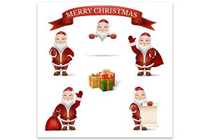 Set Santa Claus
