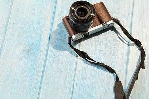 retro style camera