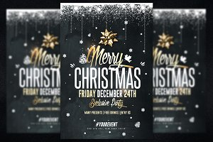 Christmas Party - Psd Invitation