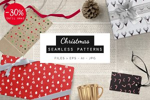 Christmas Patterns - 30% OFF