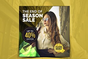 Season Sale Instagram Banner
