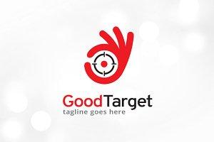 Good Target Logo Template