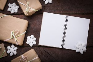Gifts with copy space