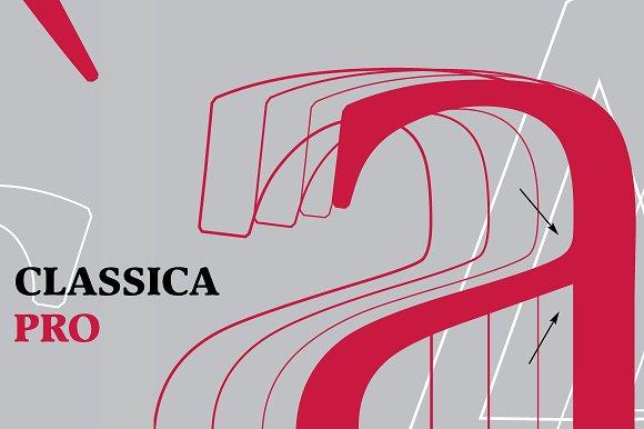 Classica Pro Bold Italic