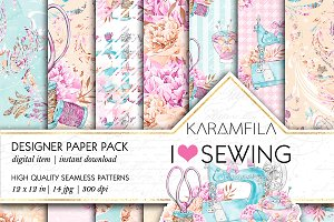 Sewing Seamless Patterns