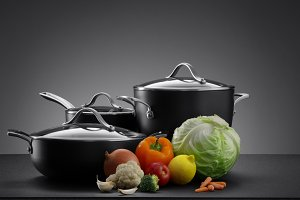 pots and veggie