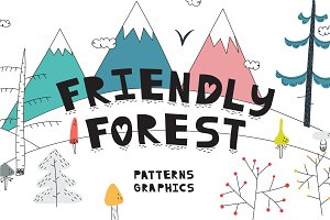 Friendly Forest | Pattens&Graphics