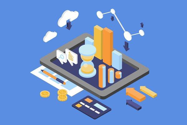 Infographic data analytics