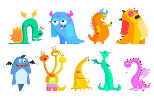 Cute Monsters and Aliens