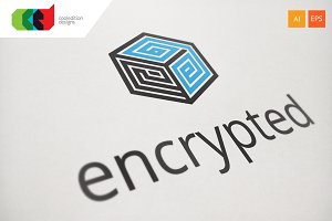 Encrypted - Logo Template