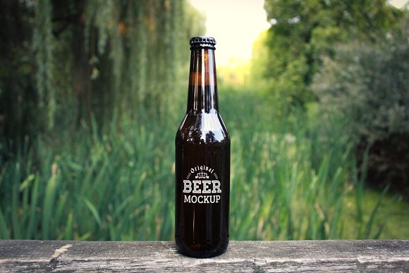 Beer Mock-up Pack#1 in Product Mockups - product preview 3