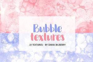 Bubble textures