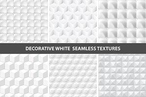 White seamless textures