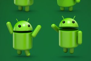Android 3d character