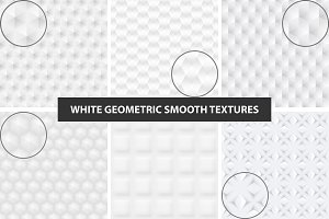 White and gray seamless textures.