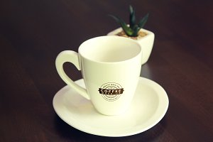 Coffee Cup Mock-up 3