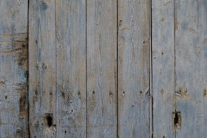 Wood old door