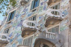 Casa Batllo from Barcelona Gaudi