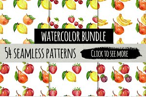 Watercolor pattern