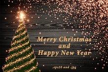 Merry Christmas & Happy New Year set
