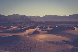 Desert Sand Dunes (Vintage Edition)