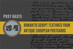 Post Haste | Antique European Script