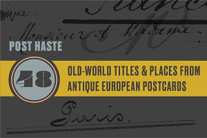 Poste Haste | Titles & Places