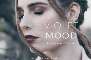 Violet Mood LR and ACR preset pack