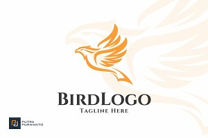 Bird / Wing - Logo Template