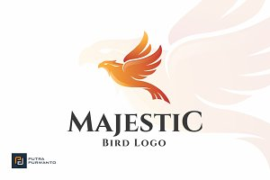 Majestic Bird - Logo Template