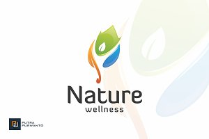 Nature Wellness - Logo Template