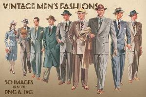 Vintage Men's Fashions