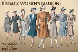 Vintage Women's Fashions