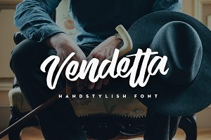 Vendetta Handstylish Font