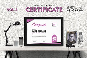 Best Multipurpose Certificate Vol 2
