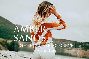 1 Orange & Amber Lr & Ps Preset