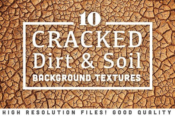 10 Cracked Dirt Soil Textures