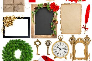 Christmas decoration objects JPG