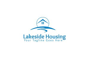Lakeside Housing Logo Template
