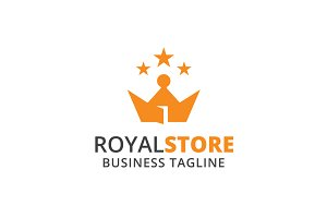 Royal Store Logo Template