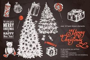 Christmas Sketch Set
