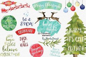 Holy Night - Christmas Illustrations