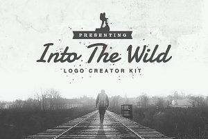 Into The Wild - Logo Creator Kit