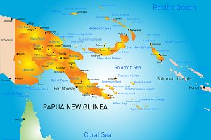 Papua New Guinea country