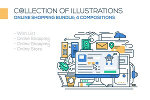 Online Shopping Compositions Bundle