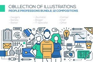 Professions - Compositions Bundle