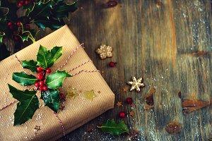 Christmas present box