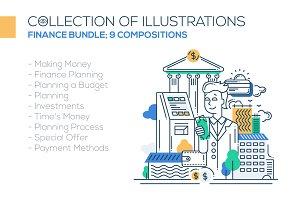 Finance & Budget Compositions Bundle