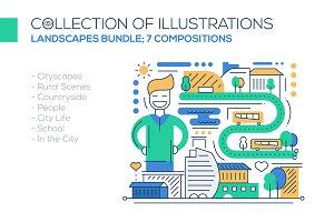 Landscapes Compositions Bundle