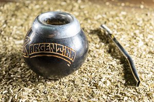 Calabash with Argentinian mate
